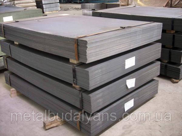 Лист сталевий 20 ст. 6,0х1250х2500мм гарячекатаний