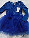 Платье для девочки нарядное с пышной юбкой Кокетка Размеры 128 134, фото 2