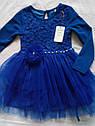Платье для девочки нарядное с пышной юбкой Кокетка Размеры 128 134, фото 4