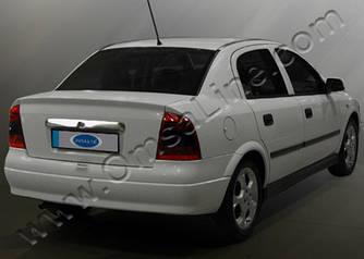 Планка над номером (нерж) - Opel Astra G classic 1998-2012 рр ..