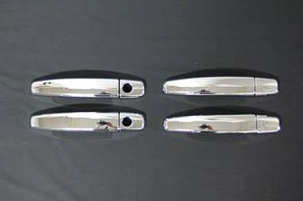 Накладки на ручки (4 шт) - Opel Astra J 2010+ гг.