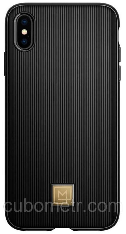 Чехол Spigen для iPhone XS Max La Manon Classy Black