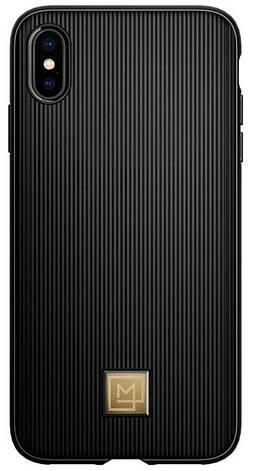 Чехол Spigen для iPhone XS Max La Manon Classy Black, фото 2
