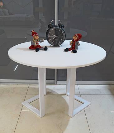 Стол обеденный М1126Кдиаметр 1060, фото 2