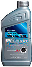 Моторное масло Honda 0W-20 Ultimate Full Synthetic