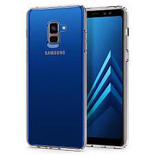 Чехол Spigen для Galaxy A8+ (2018) Liquid Crystal Clear, фото 2