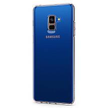 Чехол Spigen для Galaxy A8+ (2018) Liquid Crystal Clear, фото 3