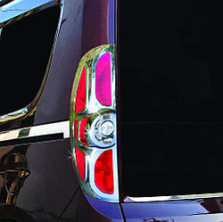 Окантовка на стопи (2012-2015, 2 шт, пласт) - Opel Combo 2012-2018 рр ..