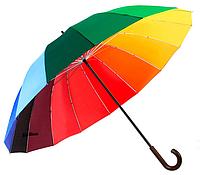 Зонт трость Kronos Star Rain 16 спиц Разноцветный