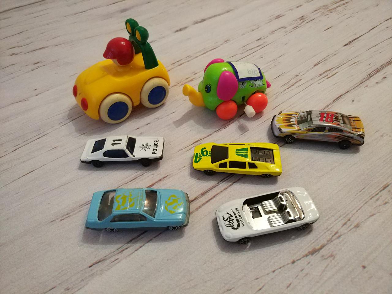 Продам машины детские, состояние б/у