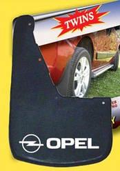 Бризковики з поглибленням (2 шт, гума) - Opel Movano 2004-2010 рр.