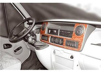 Накладки на панель (2004-2010) - Opel Movano 2004-2010 рр.