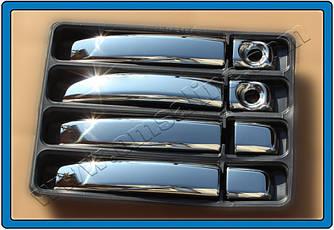Накладки на ручки (4 шт) - Opel Movano 2010+ гг.
