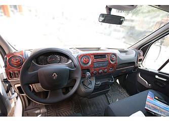 Накладки на панель (малая комплектация) - Opel Movano 2010+ гг.