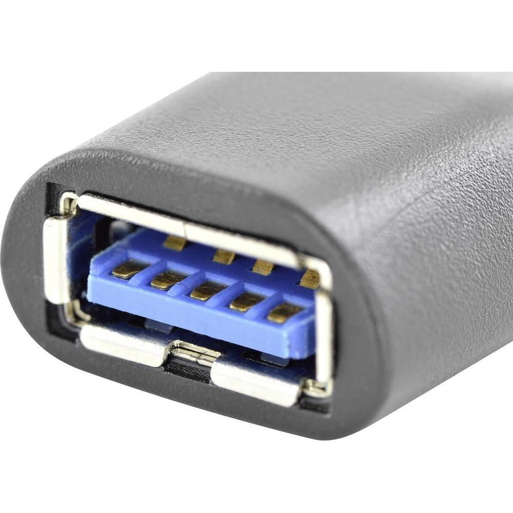 Адаптер ASSMANN USB Type-C to Type-A