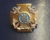 Кокарда военно морских сил Украины (нового образца)