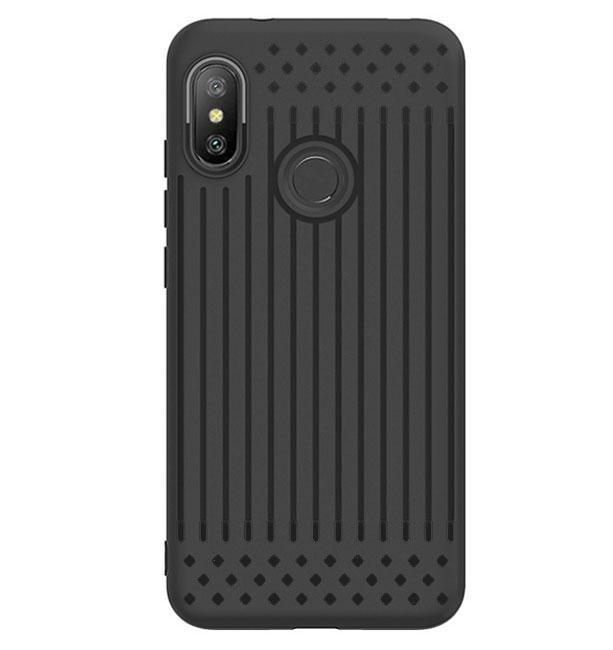 Чехол накладка Primo Shell TPU для Xiaomi Redmi Note 6 Pro - Black