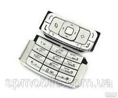 Клавіатура Nokia N95 Silver