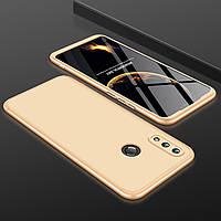Чехол GKK 360 для Huawei P Smart Plus / Nova 3i / INE-LX1 бампер оригинальный Gold