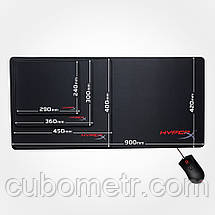 Коврик для мыши HyperX FURY S Pro Gaming Mouse Pad (XL), фото 3