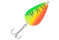 Блесна колебалка Kamasaki Spoon DP 20г Green Fish Holo