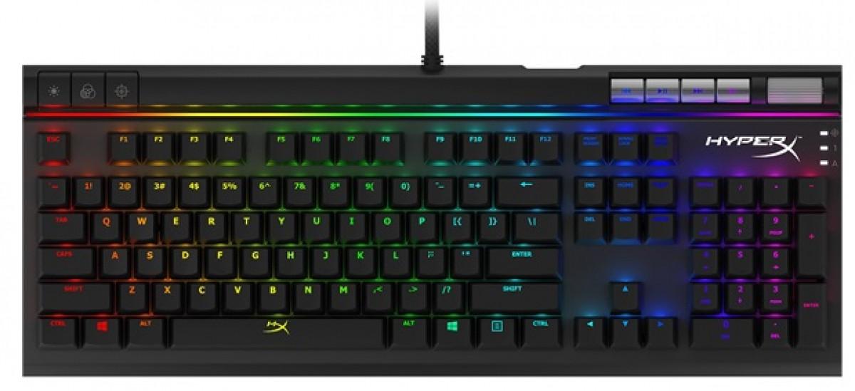Геймерская клавиатура HyperX Alloy Elite RGB Red