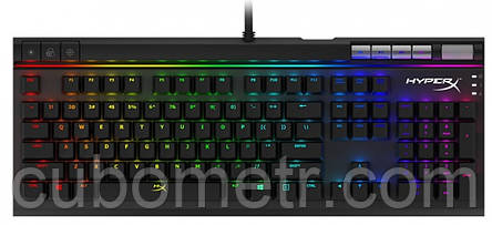Геймерская клавиатура HyperX Alloy Elite RGB Red, фото 2