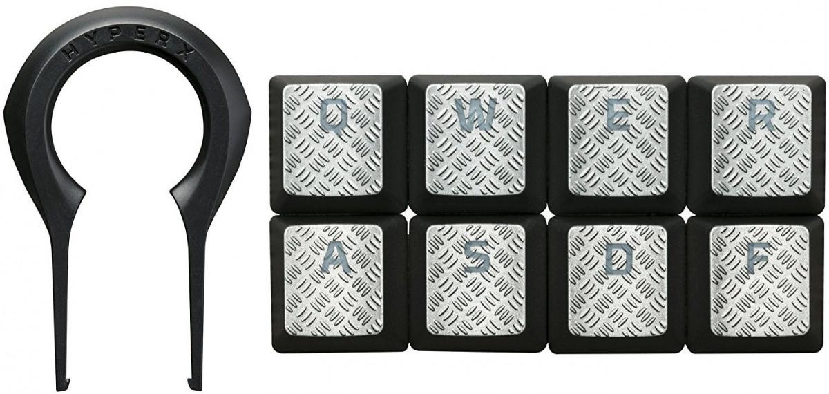 HyperX FPS & MOBA Gaming Keycaps Upgrade Kit (Titanium)