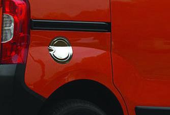 Накладка на лючок бензобака (нерж.) - Peugeot Bipper 2008+ гг.