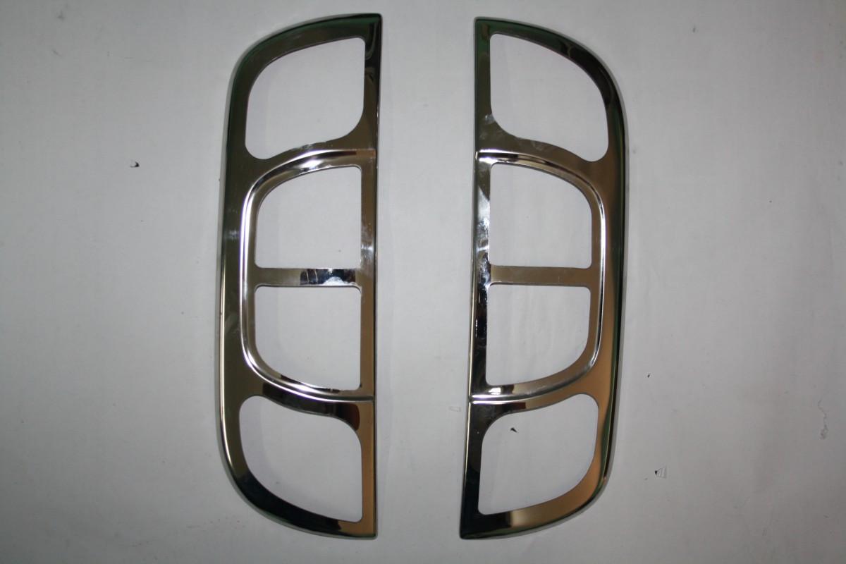 Накладка на стопы (2 шт, нерж.) - Peugeot Bipper 2008+ гг.