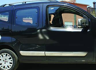 Молдинг дверной (4 шт, нерж) - Peugeot Bipper 2008+ гг.