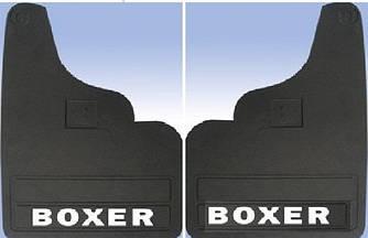 Передние брызговики прямые (2 шт) - Peugeot Boxer 1994-2006 гг.