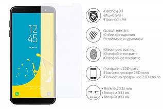 Защитное стекло 2E Samsung Galaxy J6 2.5D clear