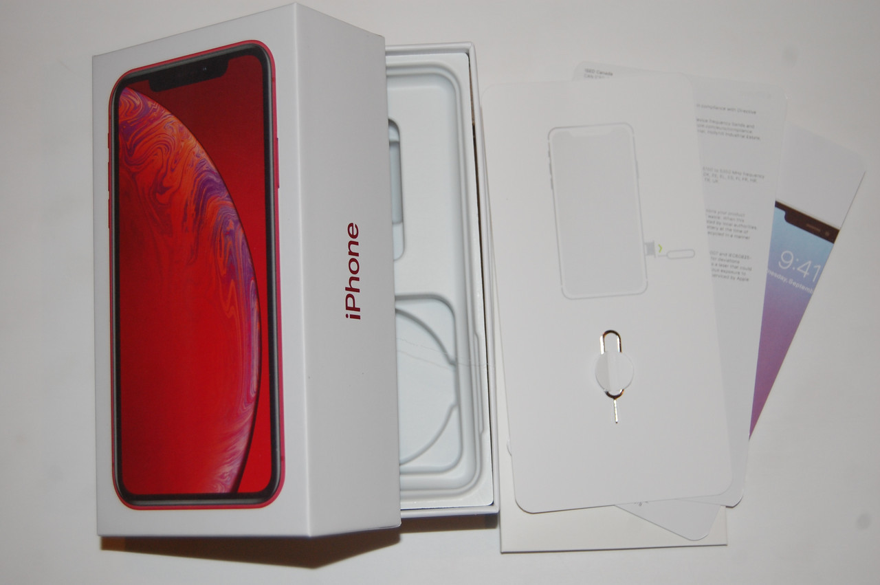 Коробка Apple iPhone XR Red