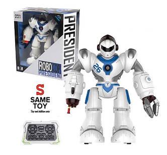 Робот Дестроер Same Toy на радиоуправлении (белый), фото 2