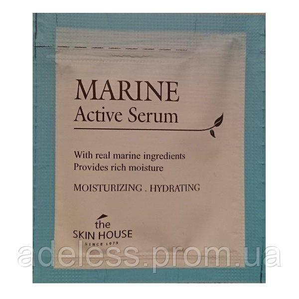 Увлажняющая сыворотка The Skin House Marine Active Serum. Пробник