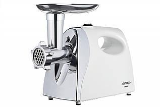 Мясорубка ARDESTO MGL-2050R - 1800Вт/2кг-мин/томат. соковыж./белый-нерж.сталь