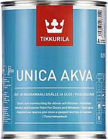 Фарба акрилатна для вікон та дверей Tikkurila Unica Akva 0,9л(A)