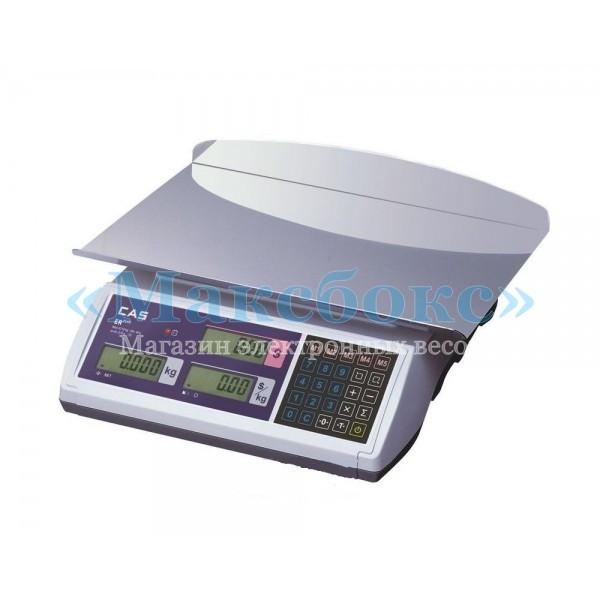 Торговые весы 30 кг CAS ER JR CB LT