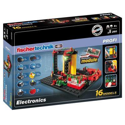 Конструктор fisсhertechnik PROFI Электроника FT-524326