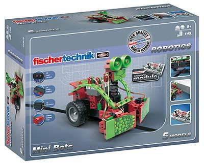 Конструктор fisсhertechnik ROBOTICS Мини-боты FT-533876, фото 2