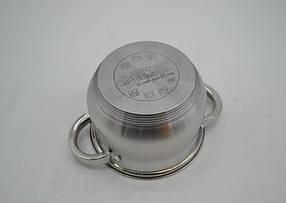Набор кастрюль Benson нержавеющих BN-206 -  8 пр- 2.1 , 2.9 , 3.9 , 6.5 лтр индукционные, фото 2