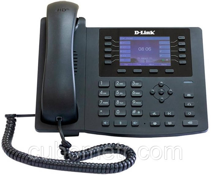 IP-Телефон D-Link DPH-400SE/F5 1xFE LAN, 1xFE WAN, PoE