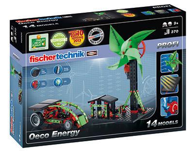Конструктор fisсhertechnik PROFI ЭKO энергия FT-520400, фото 2