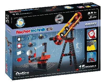 Конструктор fisсhertechnik PROFI Oптика FT-520399