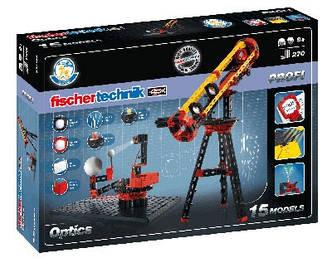 Конструктор fisсhertechnik PROFI Oптика FT-520399, фото 2