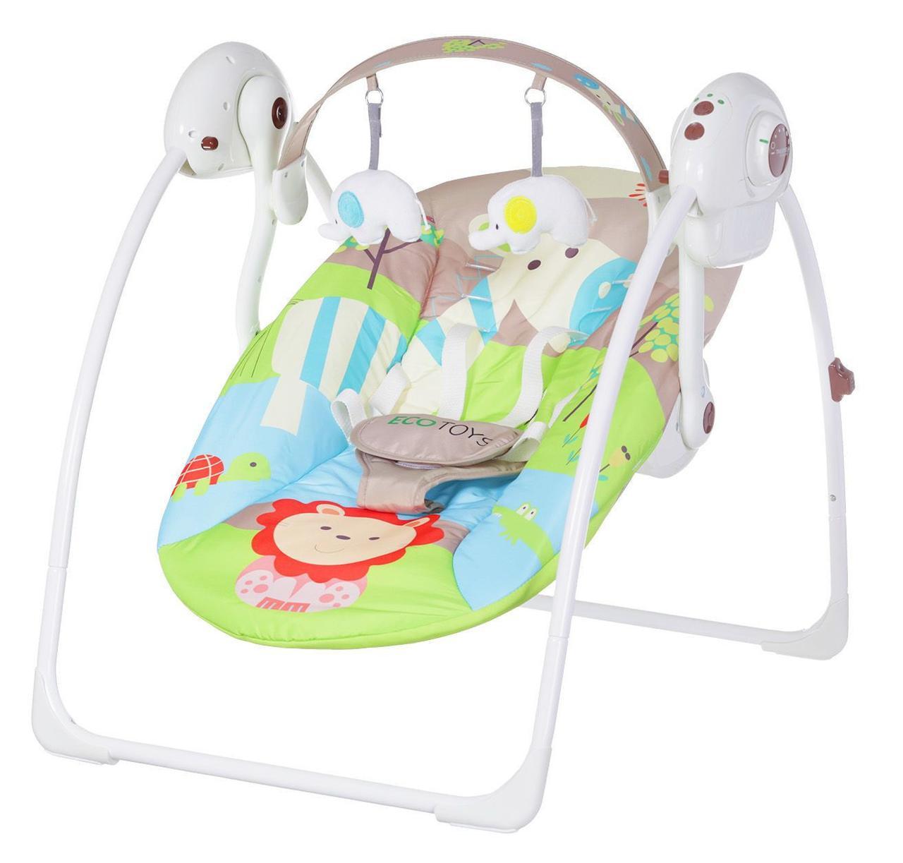 Кресло-качалка детское Джунгли от ECOTOYS