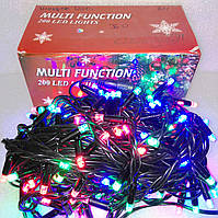 Вулична гирлянда шнурок 200 LED