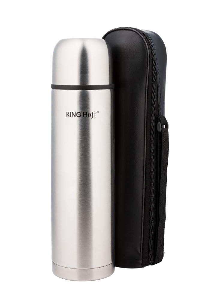 Термос KING Hoff KH-4052 500мл Сріблястий +чохол