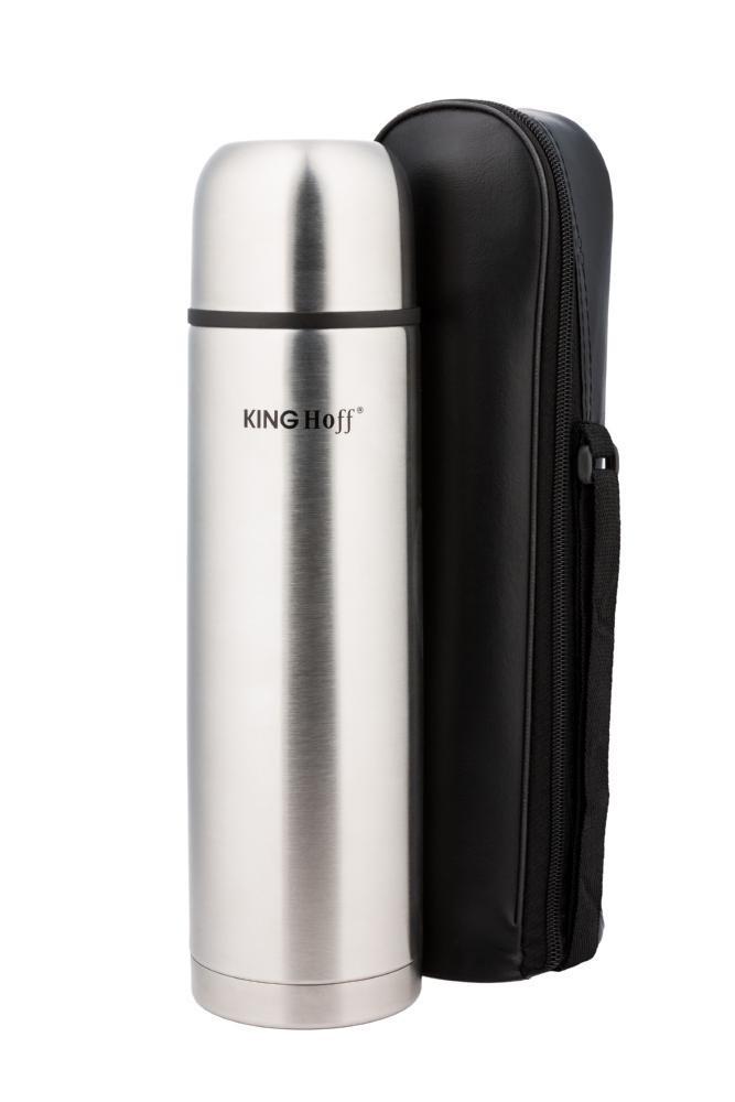 Термос KING Hoff KH-4053 750мл Сріблястий +чохол